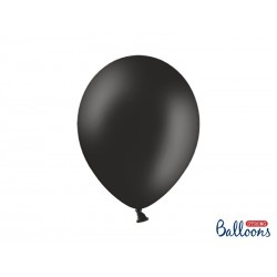 Czarny pastelowy - balon...
