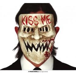 "Maska ""Kiss Me"" - plastikowa"