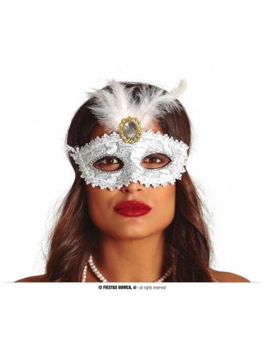 Maska Wenecka z kamieniem,...