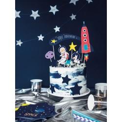 "Topper na tort ""Kosmos"" zestaw"