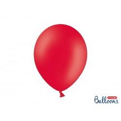 Czerwony pastelowy - balon jednokolorowy