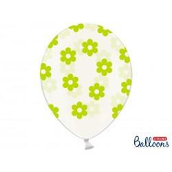 Przezroczysty balon w...