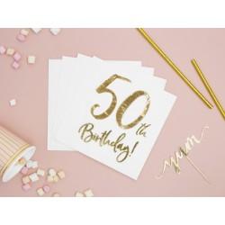 Serwetki papierowe - 50th...