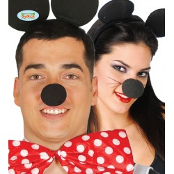 Nos myszy - czarny