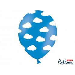 Niebieski (Corn blue) balon...
