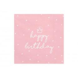 """Serwetki """"Happy Birthday""""..."""