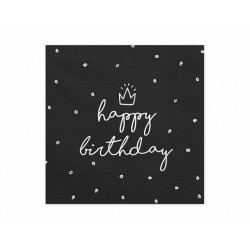 """Serwetki """"Happy Birthday"""",..."""
